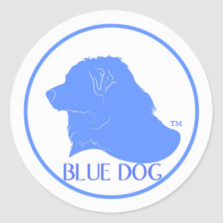 Blue Dog Democrat Sticker