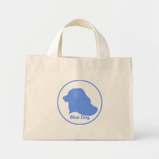 Blue Dog Democrat Tote Bag