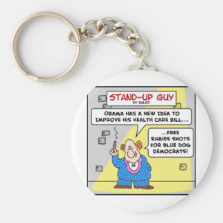 blue dog democrats obama keychain