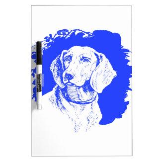 Blue Dog Dry-Erase Board