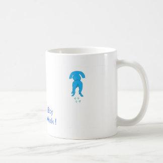 Blue Dog Ears Down Daddy's Boy Coffee Mug