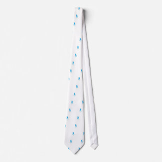 Blue Dog Ears Up Mama's Boy Tie