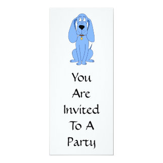 Blue Dog. Hound. Card