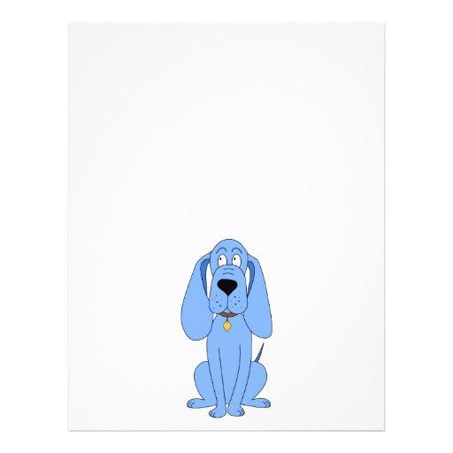Blue Dog. Hound. Custom Flyer