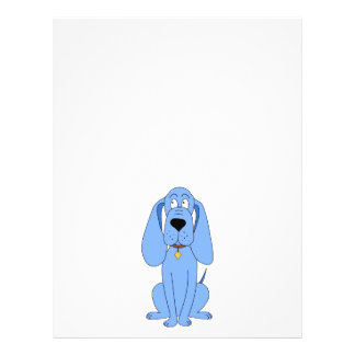 Blue Dog Hound Custom Flyer