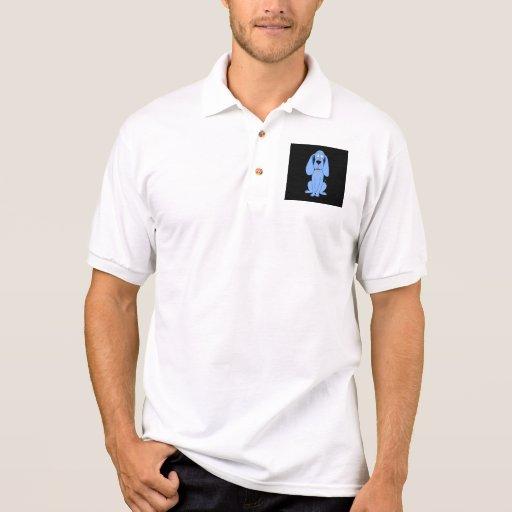 Blue Dog. Hound. Polo Shirt