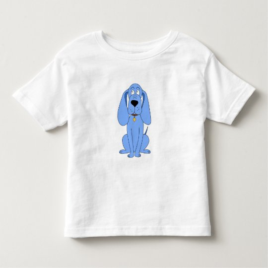 Blue Dog. Hound. Toddler T-shirt