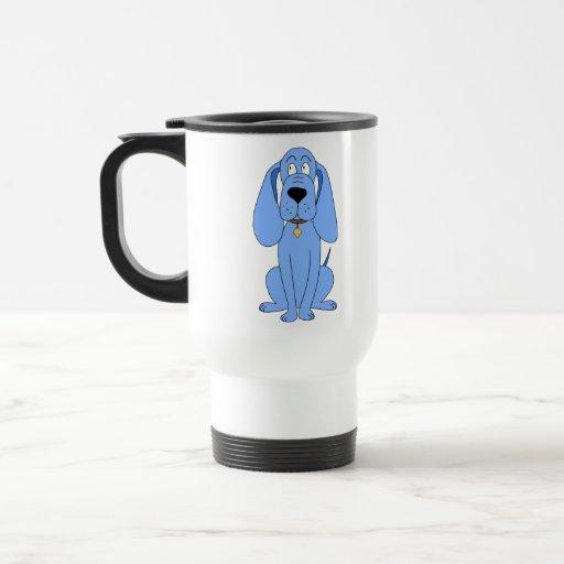 Blue Dog. Hound. Travel Mug
