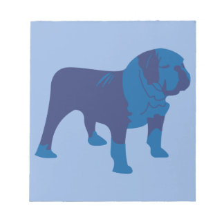 Blue Dog Notepad