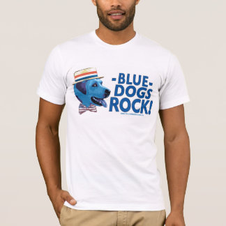 Blue Dog Rocks Shirt