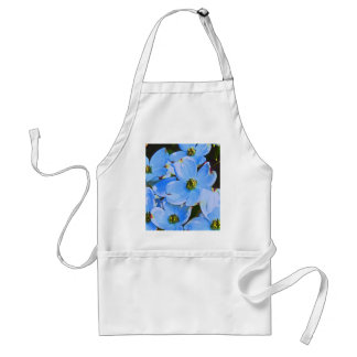 Blue Dogwood Adult Apron