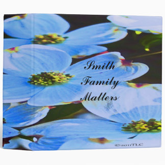 Blue Dogwood Binder