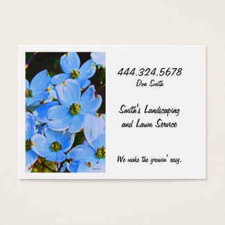 Blue Dogwood Business Card
