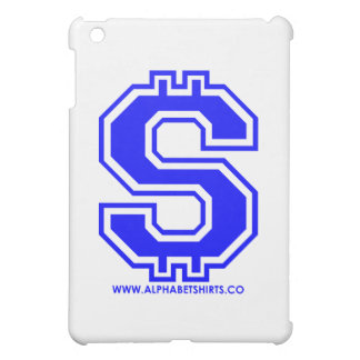 Blue Dollar Sign iPad Mini Case