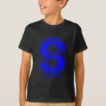 Blue Dollar Sign T-Shirt