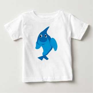 Blue Dolphin Baby T-shirt