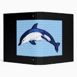 Blue Dolphin Binder