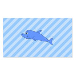 Blue Dolphin. Double-Sided Standard Business Cards (Pack Of 100)