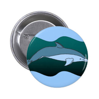 Blue Dolphin Buttons