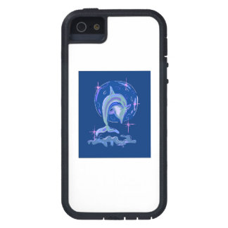 Blue Dolphin iPhone 5 Case