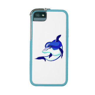 Blue Dolphin iPhone 5 Cover