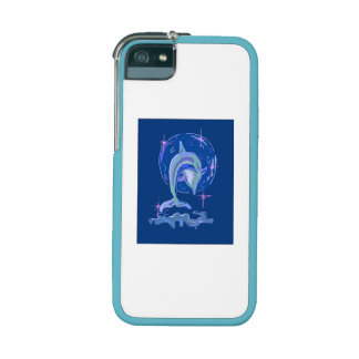 Blue Dolphin Cover For iPhone 5