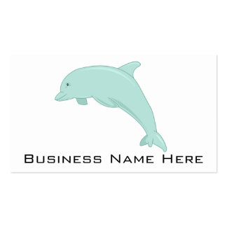 Blue Dolphin Digital Illustration Business Card Templates