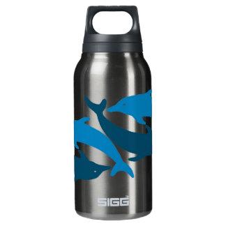 Blue Dolphin Duet Insulated Water Bottle