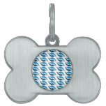 Blue Dolphin Duet Pet ID Tag