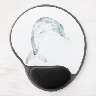 Blue Dolphin Gel Mouse Pad
