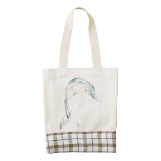 Blue Dolphin HEART Tote