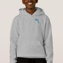 Blue Dolphin Hoodie