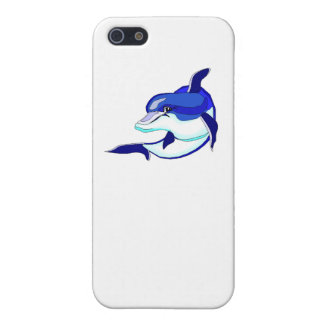 Blue Dolphin Case For iPhone 5/5S