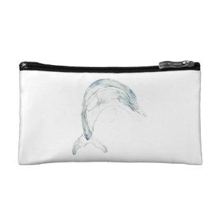 Blue Dolphin Makeup Bag
