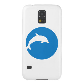 Blue dolphin moon galaxy s5 covers