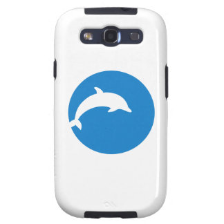 Blue dolphin moon samsung galaxy s3 cases