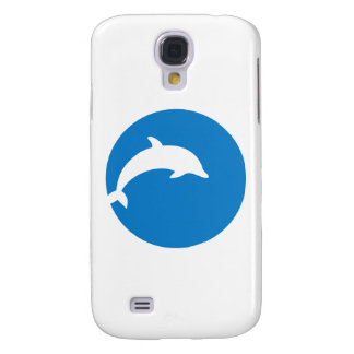 Blue dolphin moon samsung galaxy s4 covers