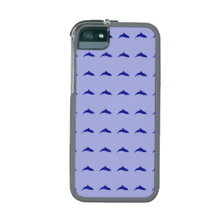 Blue dolphin pattern iPhone 5/5S cover