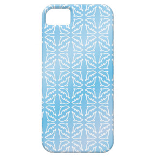 Blue Dolphin Patterns iPhone 5 Case