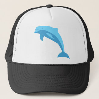 Blue Dolphin Trucker Hat