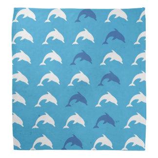 Blue dolphins bandana