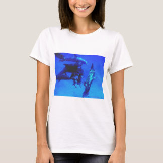 Blue Dolphins (BiMiNi) T-Shirt