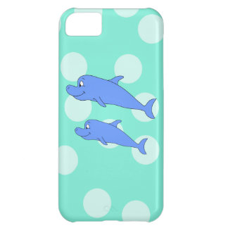 Blue Dolphins iPhone 5C Case