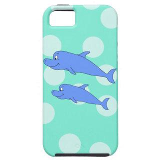 Blue Dolphins. iPhone SE/5/5s Case