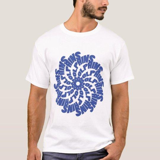 Blue Dolphins PinWheel shirt