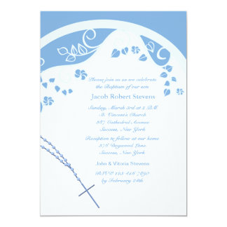 Blue Dome Religious Invitation