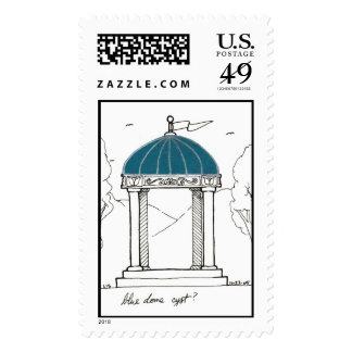 Blue Dome stamp