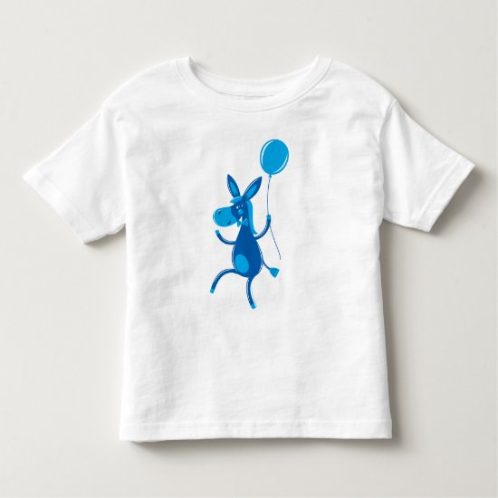 Blue Donkey Toddler T-shirt