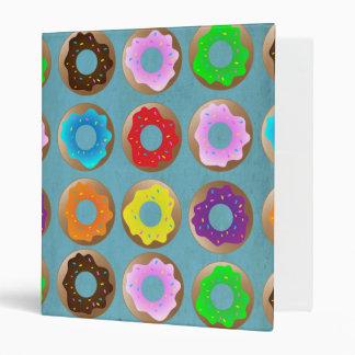Blue Donut Lot 3 Ring Binder
