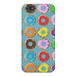 Blue Donut Lot Case For iPhone 5